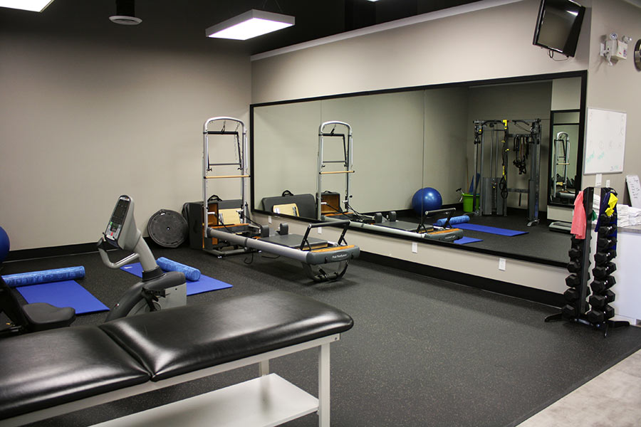 Physiostation training facility with TV Surrey BC